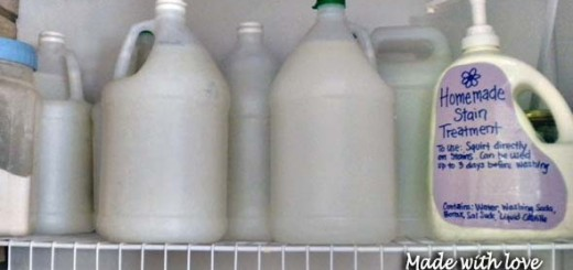 Recipes for making your own laundry soap