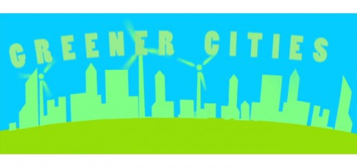 Greener cities with windmill