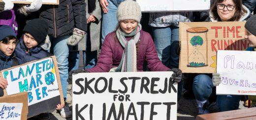 changing climate greta Thunberg